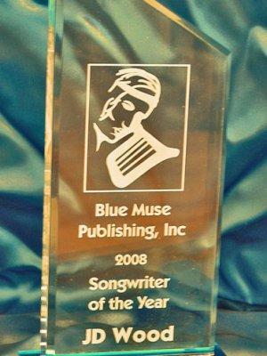 Jörg Dewald   JD Wood Award Songwriter des Jahres 2008 (Chicago)