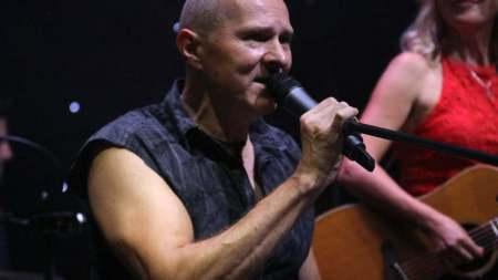 Jörg Dewald live mit Ina Morgan Band @ Kulturhalle Stockheim