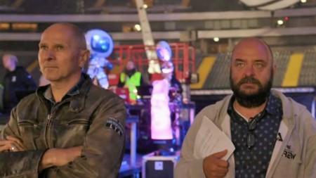 Jörg Dewald (JD Wood), Bernd-Breiter (CEO Big City Beats) und ESA Astronaut Matthias Maurer beim World Club Dome