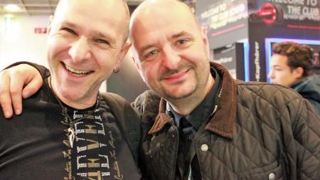 Jörg Dewald JD Wood mit Business Partner und Freund langjährigen Bernd Breiter (CEO BigCityBeats))